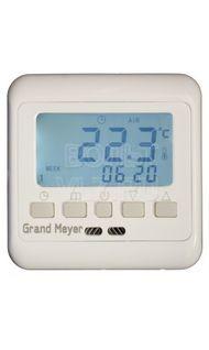 Терморегулятор сенс. в/у 3,6кВт датчик пола воздуха крем Grand Meyer PST-2