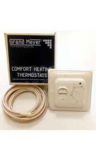 Терморегулятор мех. в/у 3,6кВт датчик пола воздуха крем Grand Meyer MST-1