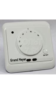 Терморегулятор мех. в/у 3,6кВт датчик пола воздуха крем Grand Meyer MST-2