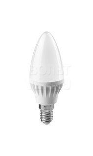 Лампа светодиодная 6Вт 2700К Е14 71628 ОНЛАЙТ OLL-C37-6-230-2.7K-E14-FR