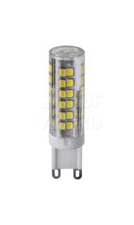 Лампа светодиодная 6Вт 3000К G9 пластик прозрачная Navigator NLL-P-G9-6-230-3K