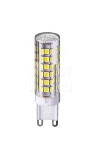Лампа светодиодная 6Вт 4000К G9 пластик прозрачная Navigator NLL-P-G9-6-230-4K