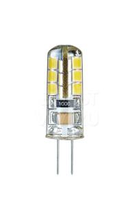 Лампа светодиодная 2,5Вт 230В 3000К G4 силикон прозрачная Navigator NLL-S-G4-2.5-230-3K