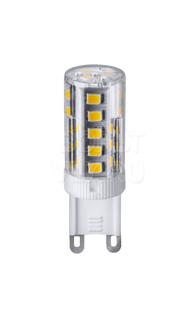 Лампа светодиодная 3Вт 3000К G9 пластик прозрачная Navigator NLL-P-G9-3-230-3K