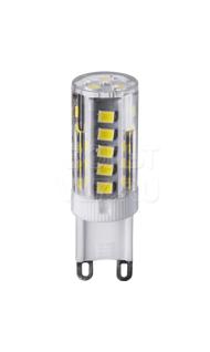 Лампа светодиодная 3Вт 4000К G9 пластик прозрачная Navigator NLL-P-G9-3-230-4K