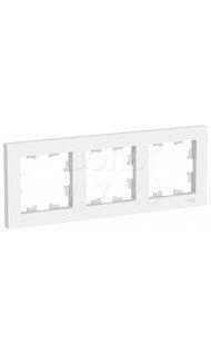 Рамка 3м белый AtlasDesign Schneider ATN000103