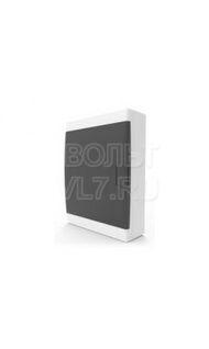ЩРН–п 18 мод. дверь проз. черная IP41 белый TPlast 4501-0018-00100