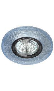 Светильник декор. с подсветкой голубой GU5.3 ЭРА DK LD1 BL