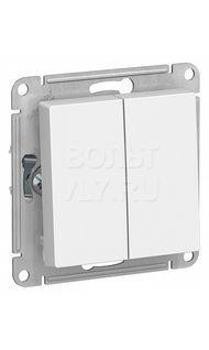 Переключатель 2кл. белый AtlasDesign Schneider ATN000165