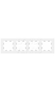 Рамка 4м белый AtlasDesign Schneider ATN000104