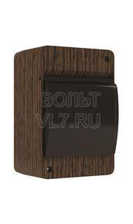 ЩРН 2-4 мод. проз. черная IP30 венге TPlast 4501-0002-00300