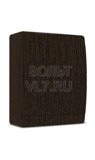 ЩРН–п 18 мод. дверь проз. черная IP41 венге TPlast 4501-0018-00300