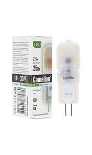 Лампа светодиодная G4 4500K 12В Camelion 12302