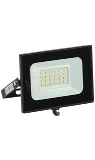 Прожектор СДО-06 20Вт черный IP65 6500K ИЭК LPDO601-20-65-K02