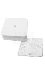 Коробка распаячная 75х75х20 мм белый TPlast 50.12.003.0001