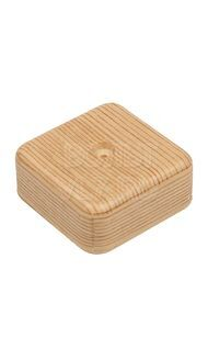 Коробка распаячная 50х50х20мм сосна TPlast 50.12.002.0002