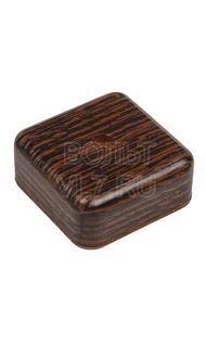 Коробка распаячная 50х50х20мм венге TPlast 50.12.002.0005