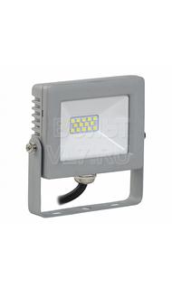 Прожектор СДО-07 10Вт серый IP65 6500K ИЭК LPDO701-10-K03