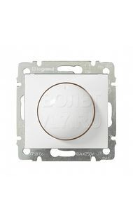 Светорегулятор поворот. 40-400W для ламп накаливания белый Valena Legrand 770061