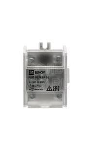 Блок распределительный проходной РБП-95 100А EKF RBP-95-100