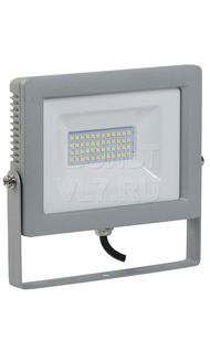 Прожектор СДО-07 70Вт серый IP65 6500K ИЭК LPDO701-70-K03