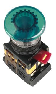 Кнопка грибок зеленая AELA-22 ИЭК BBG20-AELA-K06
