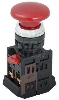 Кнопка грибок красная 1з+1р AEA-22 ИЭК BBG30-AEA-K04