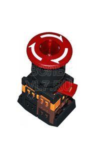 Кнопка грибок красная ANE22 ИЭК BBG40-ANE-K04