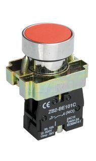 Кнопка красная без подсветки LAY5-BA41 ИЭК BBT60-BA-K04