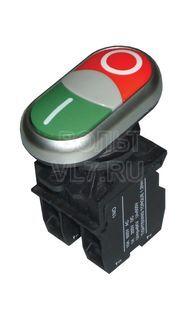 Кнопка пуск-стоп красный/зеленый EKF LA32HND