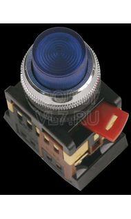 Кнопка 1з+1р синяя ABLFP-22 ИЭК BBT20-ABLFP-K07