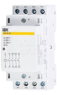 Контактор модульный КМ20-40 AC ИЭК MKK20-20-40