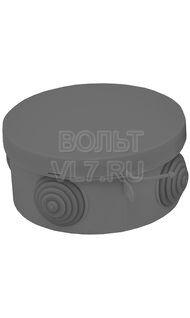 Коробка распаячная черная 65х40 IP 68 EKF plc-kmr-040-038-b