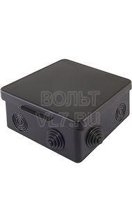 Коробка распаячная черная 80х80х50 IP68 EKF plc-kmr-030-031-b