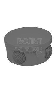 Коробка распаячная черная 85х40 IP68 EKF plc-kmr-040-039-b