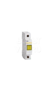 Лампа сигнальная ЛС-47 желтая неон ИЭК MLS10-230-K05