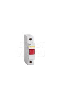 Лампа сигнальная ЛС-47 красная неон ИЭК MLS10-230-K04