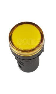 Лампа сигнальная желтая 230В AC/DC AD-22DS ИЭК BLS10-ADDS-230-K05