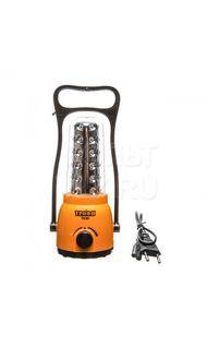 Фонарь светодиодный кемпинг 36 LED аккум ТРОФИ TK30