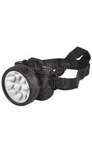 Фонарь светодиодный налобный 9 LED аккум ТРОФИ TG9