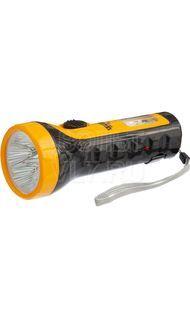 Фонарь светодиодный ручной 5 LED + 6 SMD аккум ТРОФИ TA15