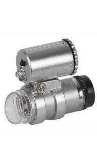 Фонарь светодиодный с микроскопом брелок 2 LED Эра M45