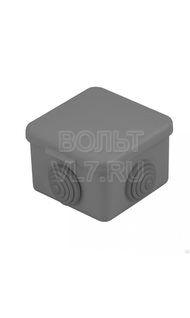 Коробка распаячная черная 65х65х50 IP68 EKF plc-kmr-030-036-b
