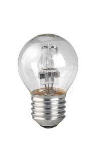 Лампа галогенная E27 прозрачный шар 28Вт (аналог 40Вт) UNIEL HCL-28/CL/E27_globe