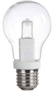 Лампа галогенная E27 прозрачный шар 52Вт (аналог 70Вт) UNIEL CL-52/CL/E27