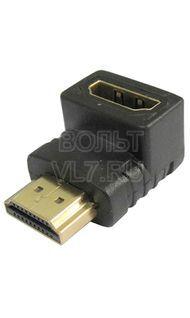 Переходник HDMI гнездо- HDMI гнездо(угловой)