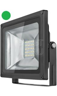 Прожектор 30Вт зеленый IP65 ОНЛАЙТ OFL-30-GREEN-BL-IP65-LED