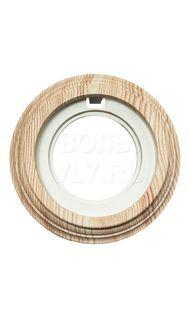Рамка 1м пластик сосна Bironi BF1-610-13/PL