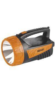 Фонарь светодиодный прожектор 1 LED аккум ТРОФИ TSP3W
