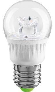 Лампа светодиодная шар E27 2700К 7Вт теплый цветок Navigator